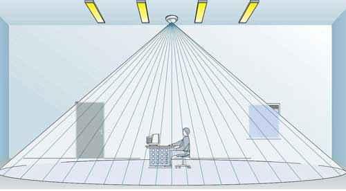 Датчик движения для включения света