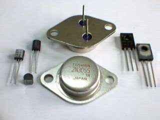 Изобретение транзистора